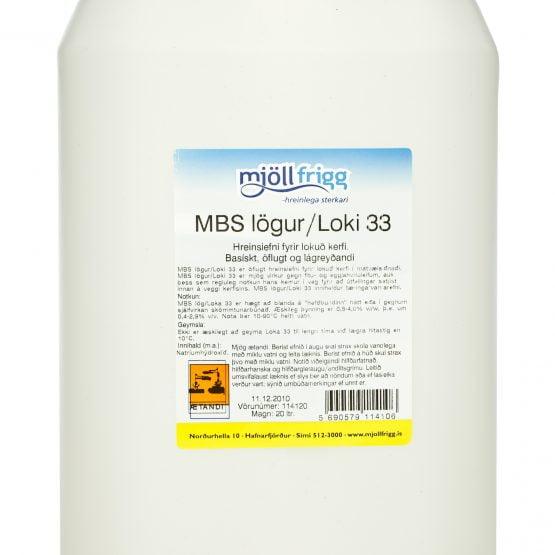 MBS lögur/Loki 33