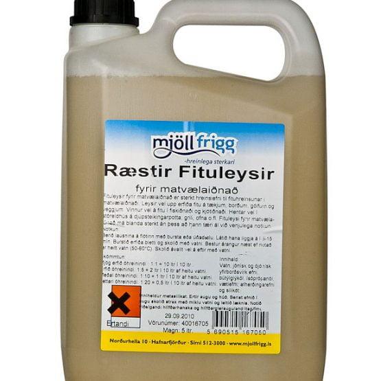 Ræstir Fituleysir fyrir matvælaiðnað