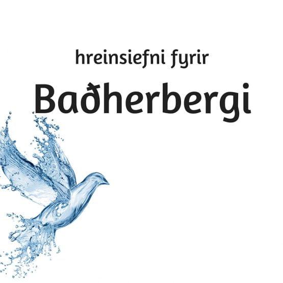 Hreinsiefni fyrir baðherbergi