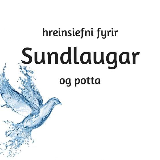 Hreinsiefni fyrir sundlaugar og heita potta