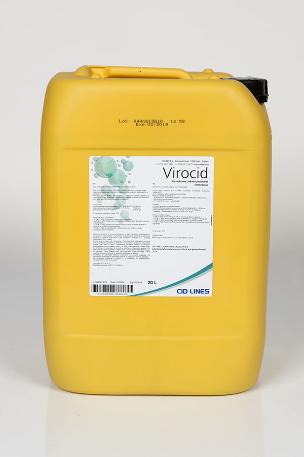 Virocid sótthreinsun gegn smitsjúkdómum í mörg